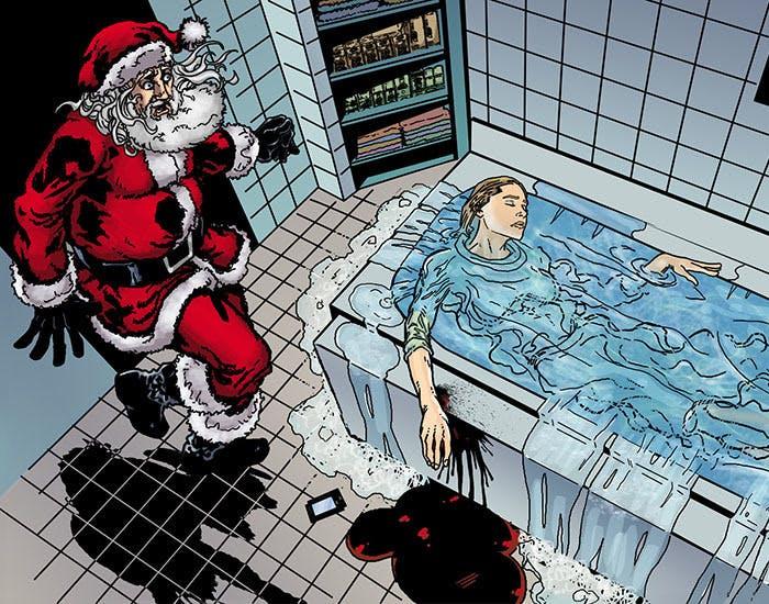 Santa Claus Private Eye Thrillbent
