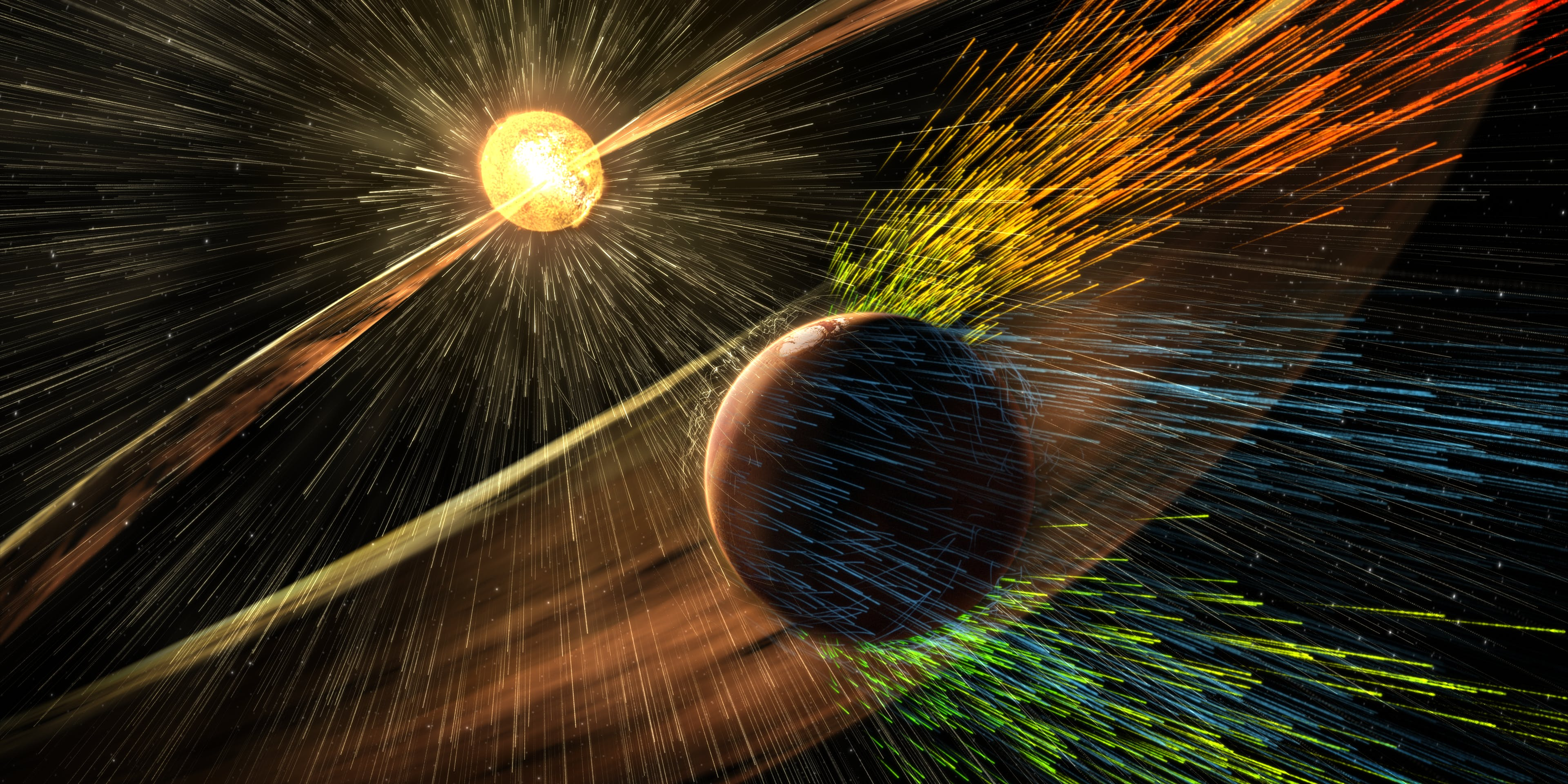 NASA Confirms Solar Winds Stripped Mars of Its Atmosphere