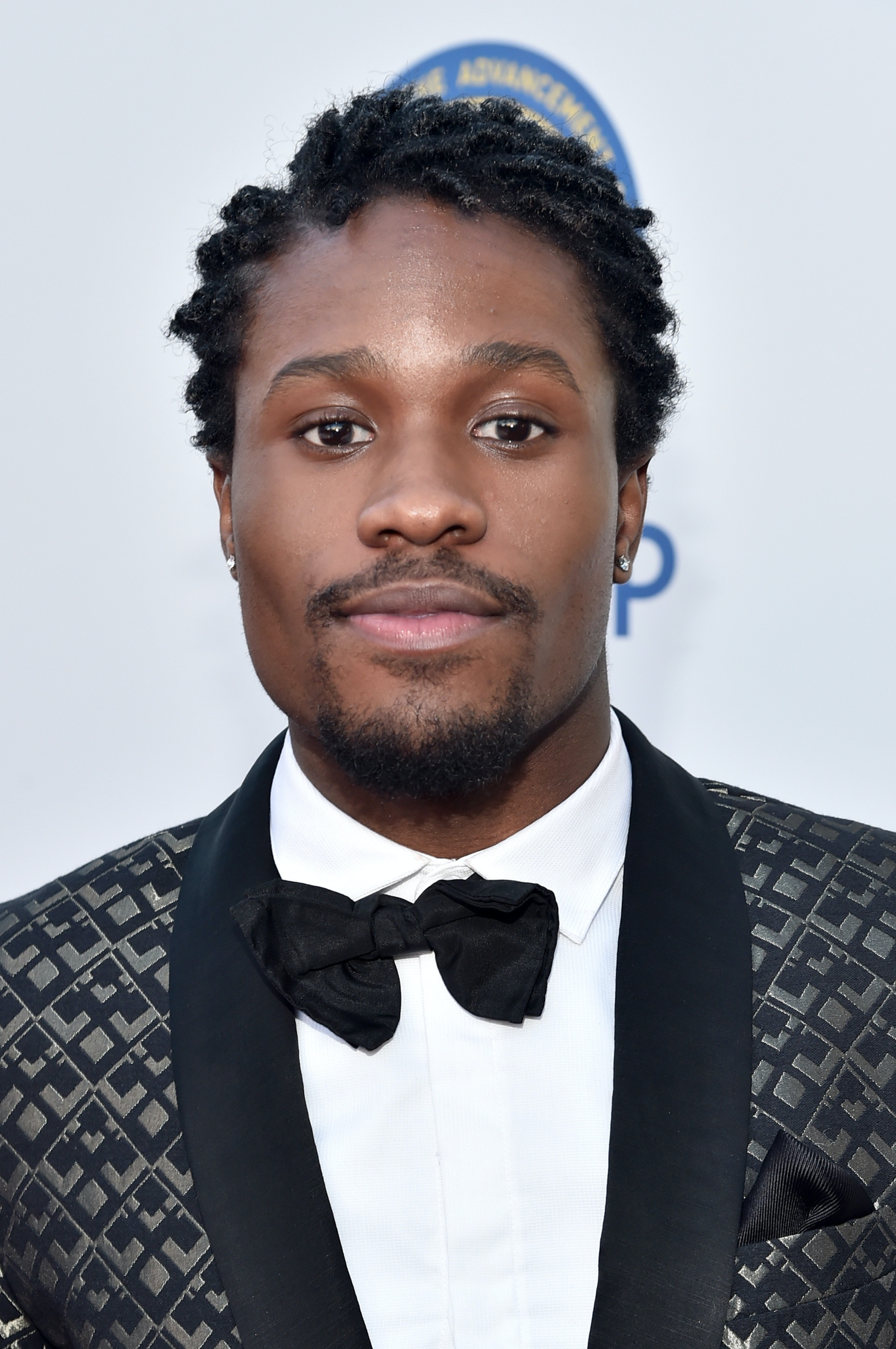 PASADENA, CA - FEBRUARY 05:  Actor Shameik Moore attends the 47th NAACP Image Awards presented by TV One at Pasadena Civic Auditorium on February 5, 2016 in Pasadena, California.  (Photo by Alberto E. Rodriguez/Getty Images for NAACP Image Awards)