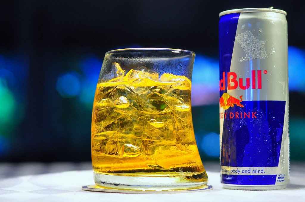 RED Bull alcoholic beverage