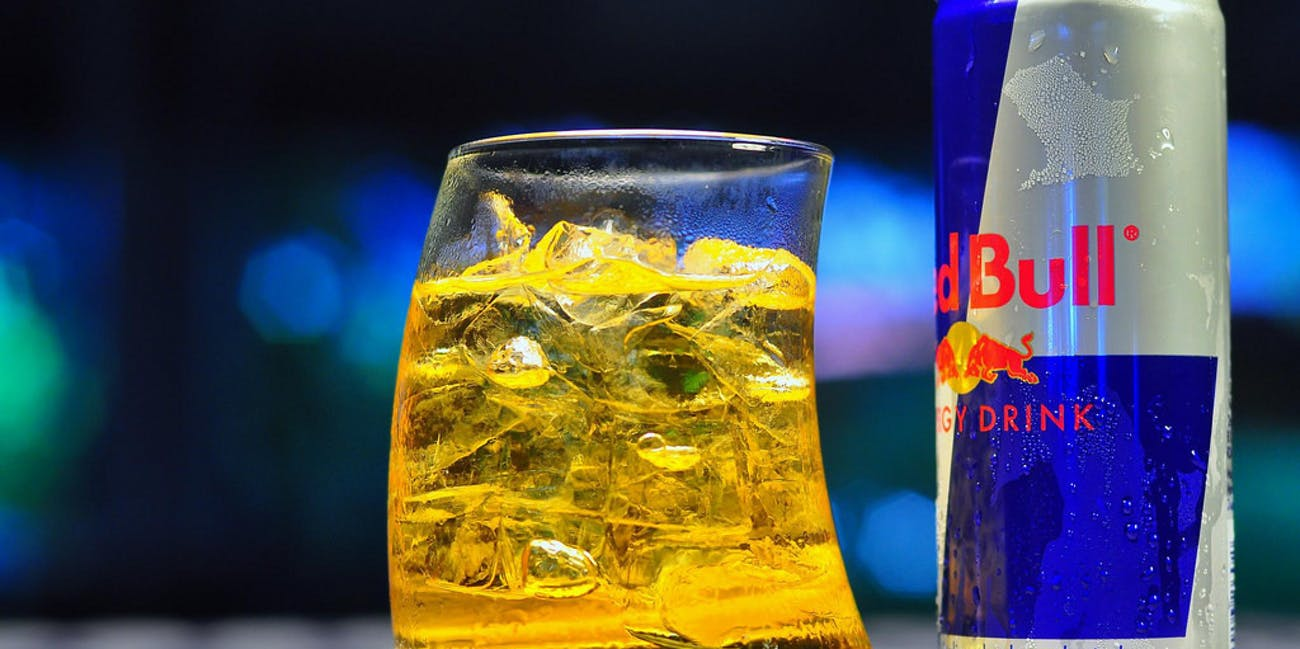 Red Bull vodka