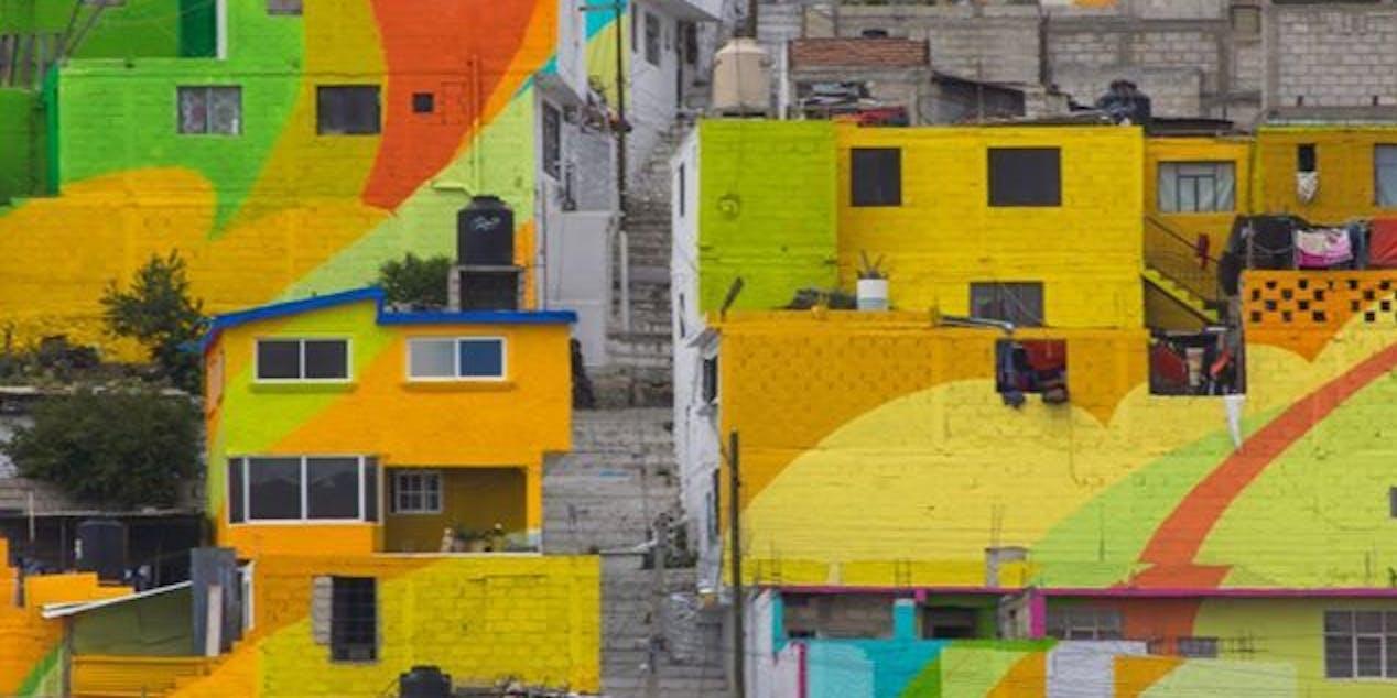 Palmitas, Mexico Has a Glorious 452-Home Mural | Inverse