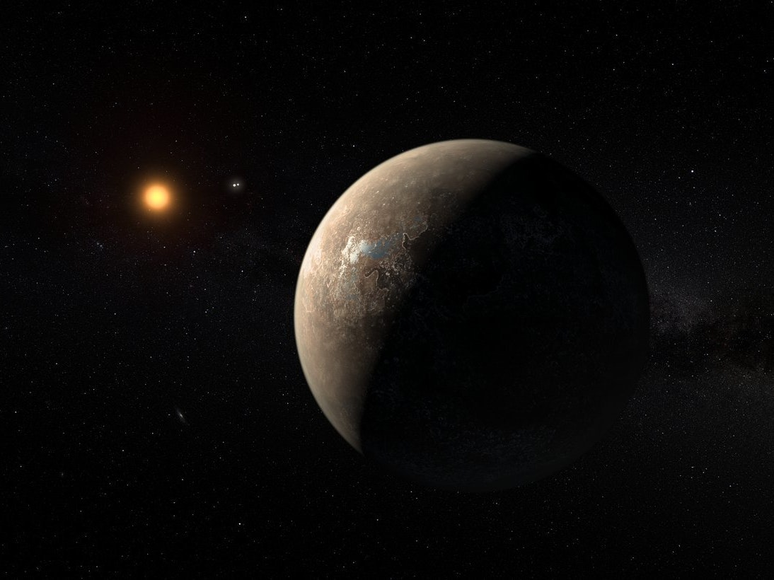 There Might Be Another Planet Orbiting Proxima Centauri