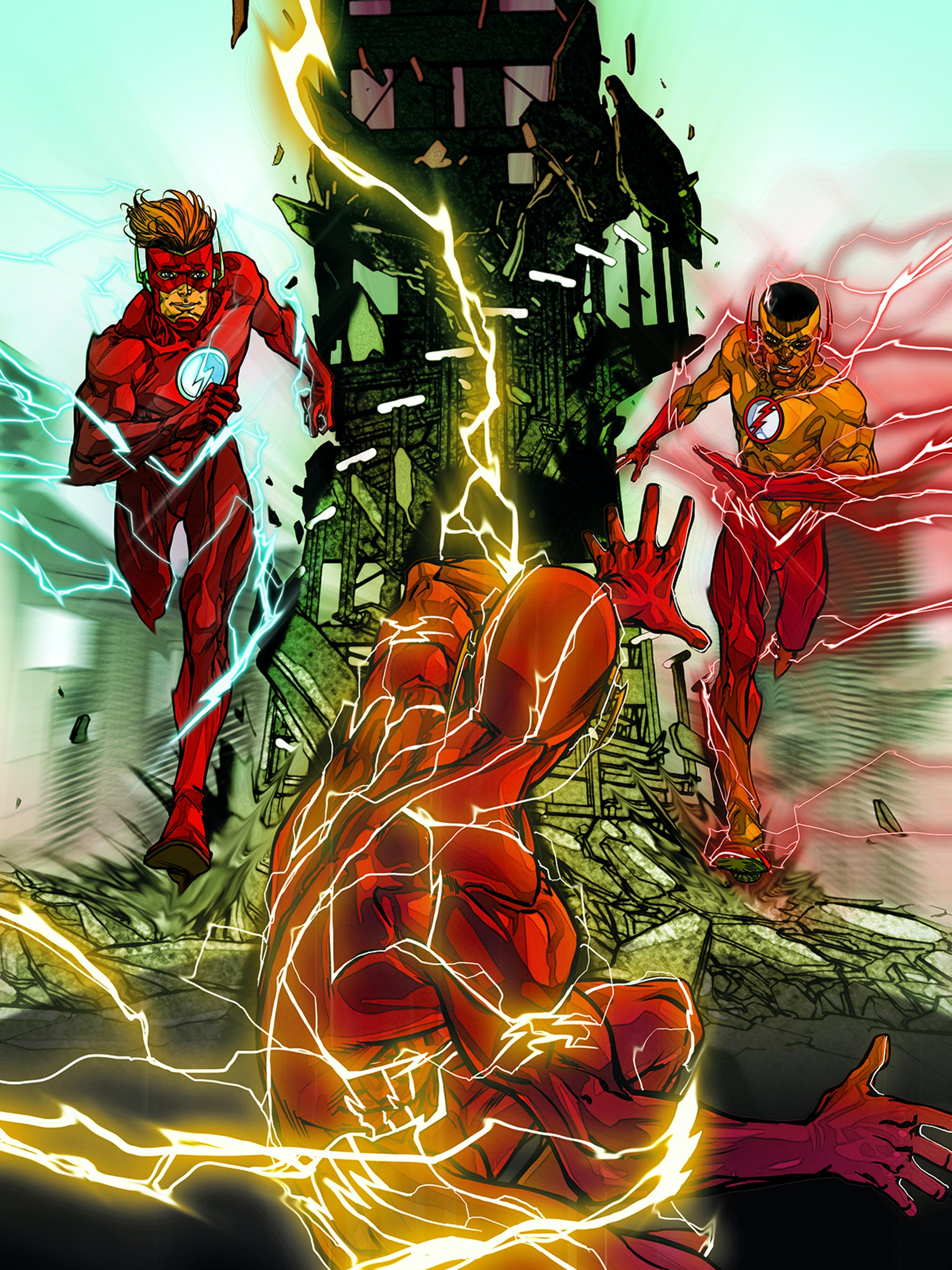 The Flash Rebirth Watchmen