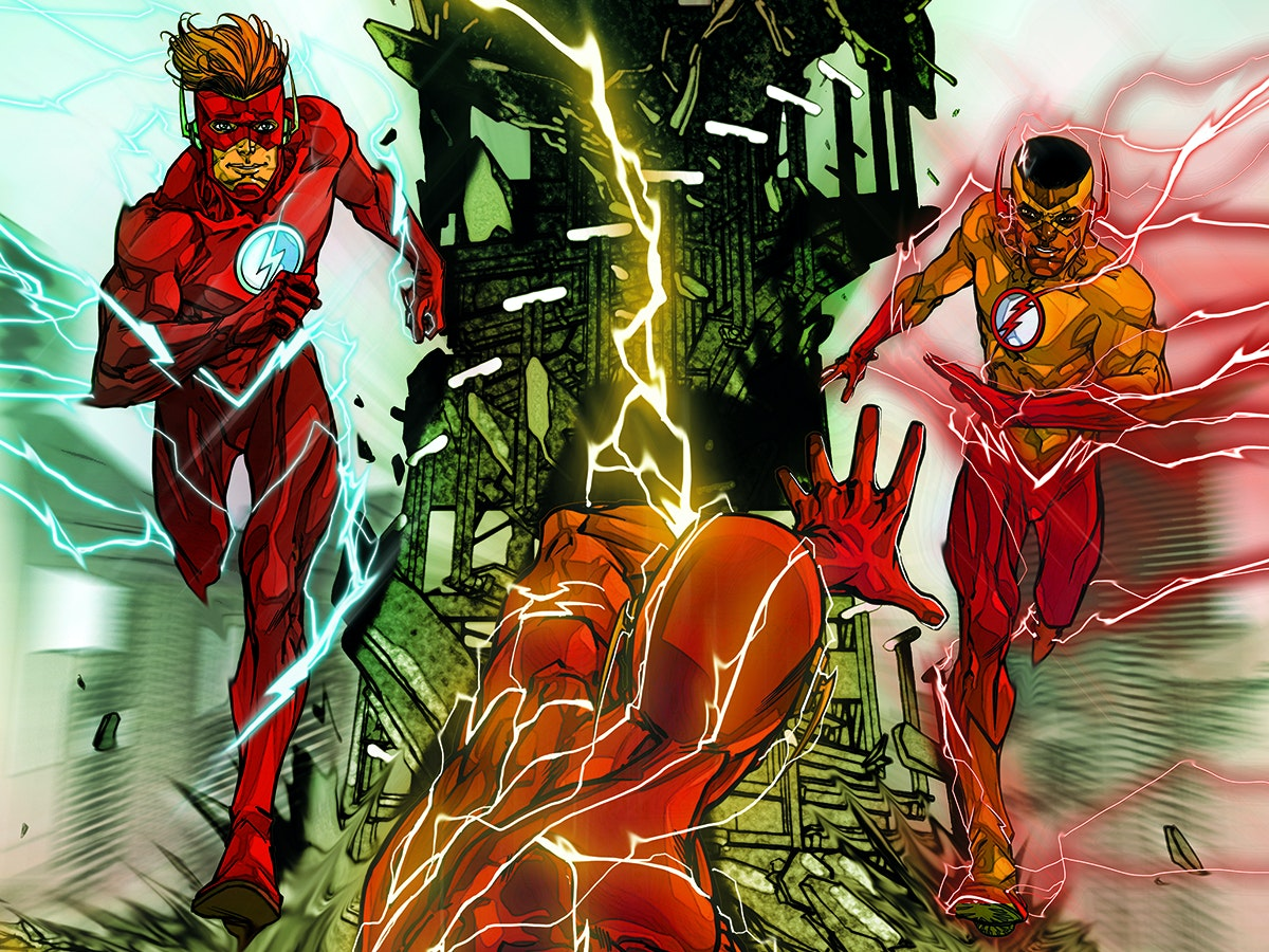 The Flash Rebirth Watchmen