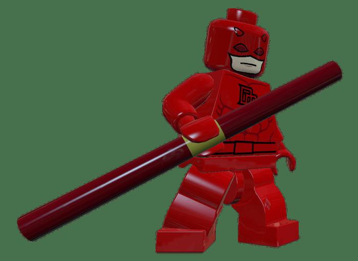 Daredevil in 'LEGO Marvel Super Heroes.'