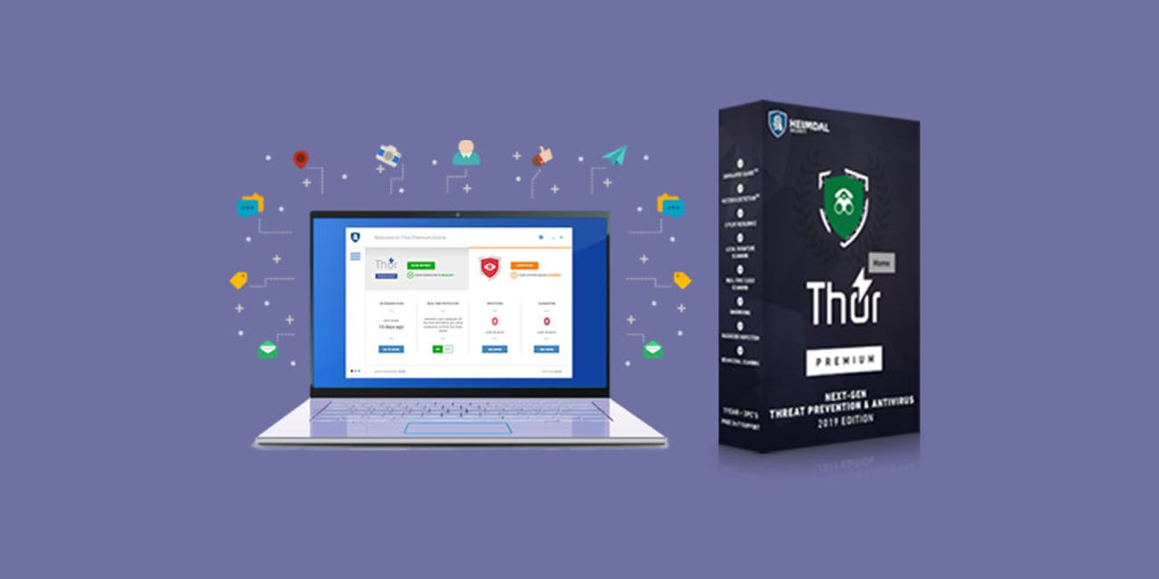 Heimdal Thor Premium Home Antivirus: 5-Yr Subscription (1 PC)