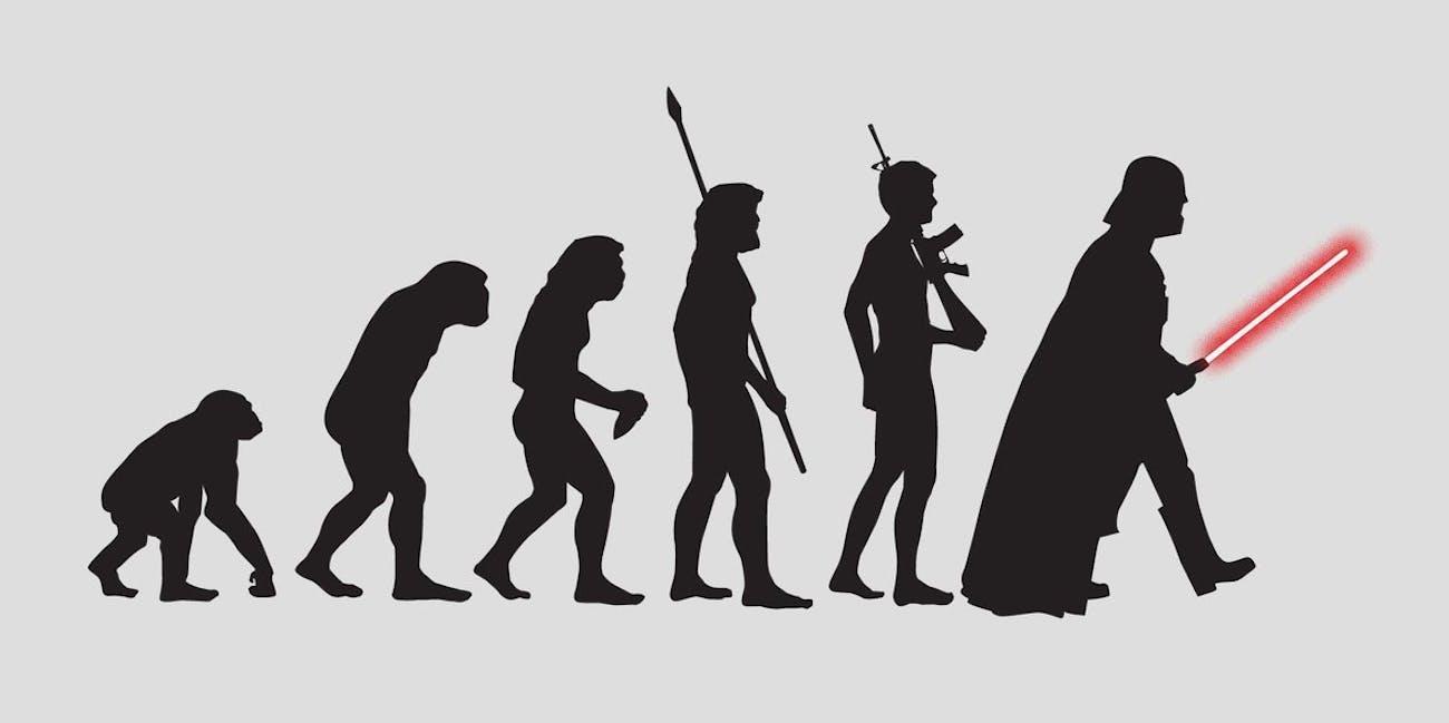 evolution inverse