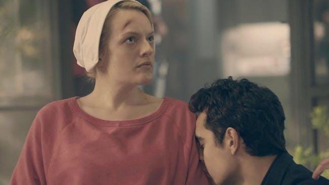 Elisabeth Moss and Max Minghella on 'The Handmaid's Tale'
