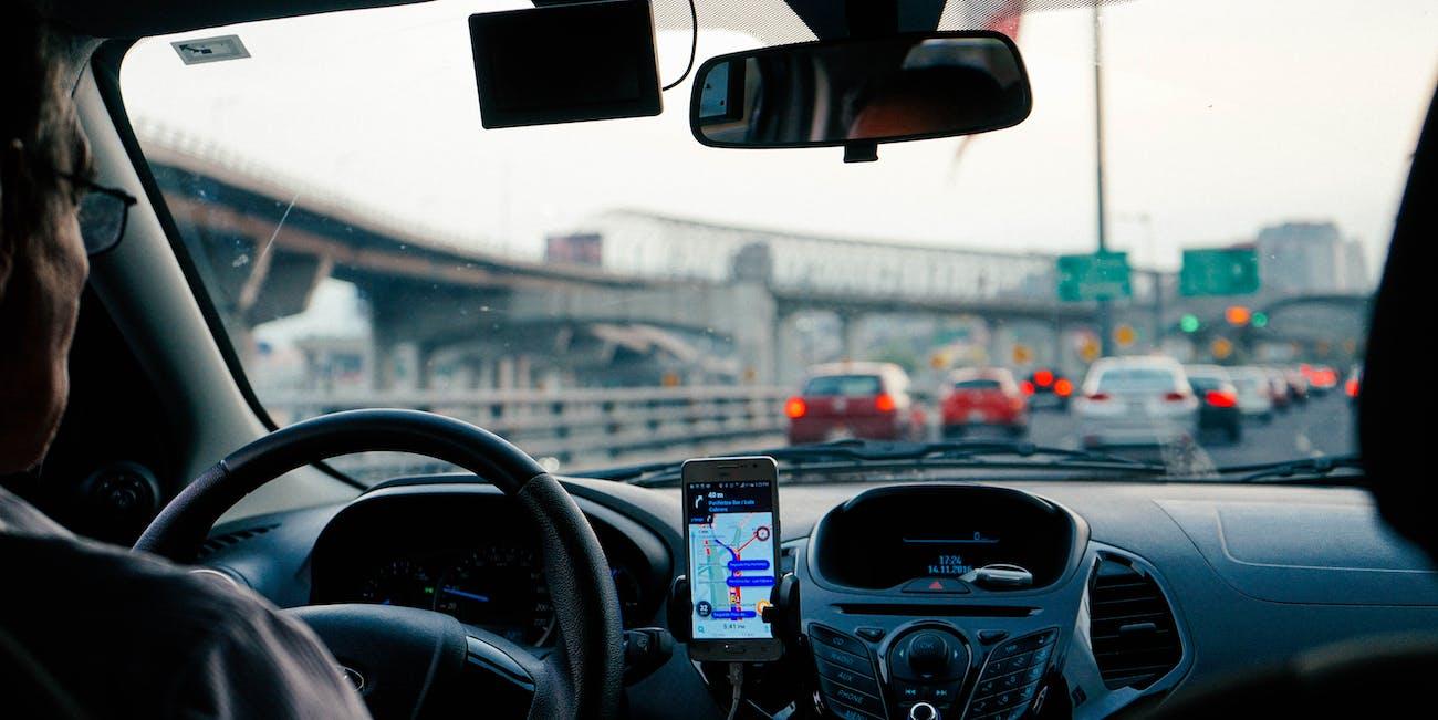 Uber driver.