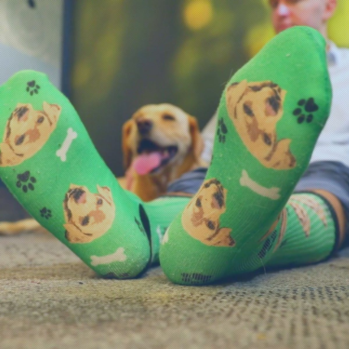 Isn't It Time You Started Wearing Socks With Your Pet's Face Printed on Them?