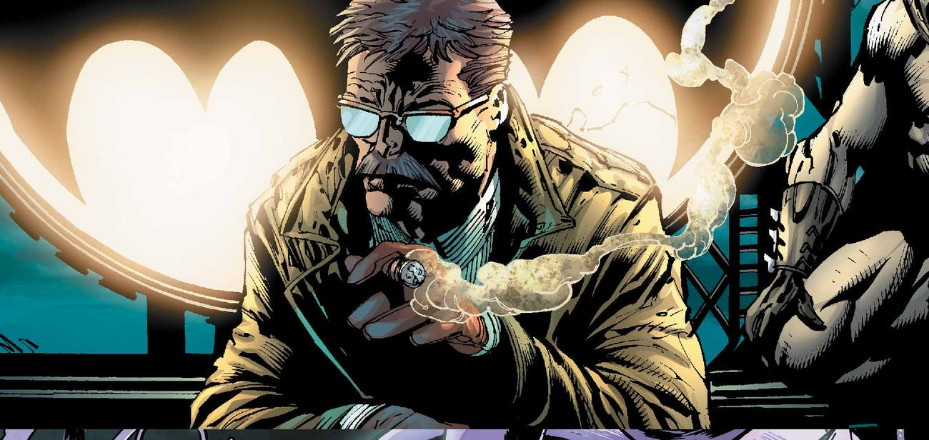 Batman Jim Gordon Gotham