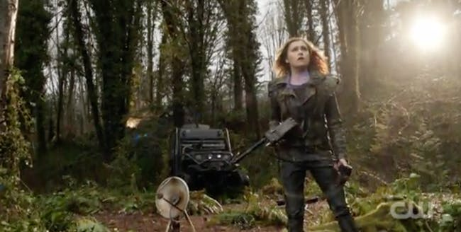 Eliza Taylor as Clarke Griffin in 'The 100'