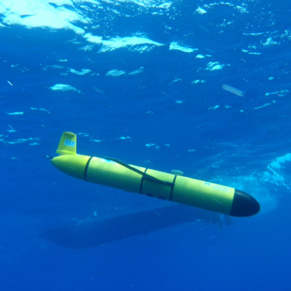 Self-driving robotic glider can hear nuclear explosions underwater