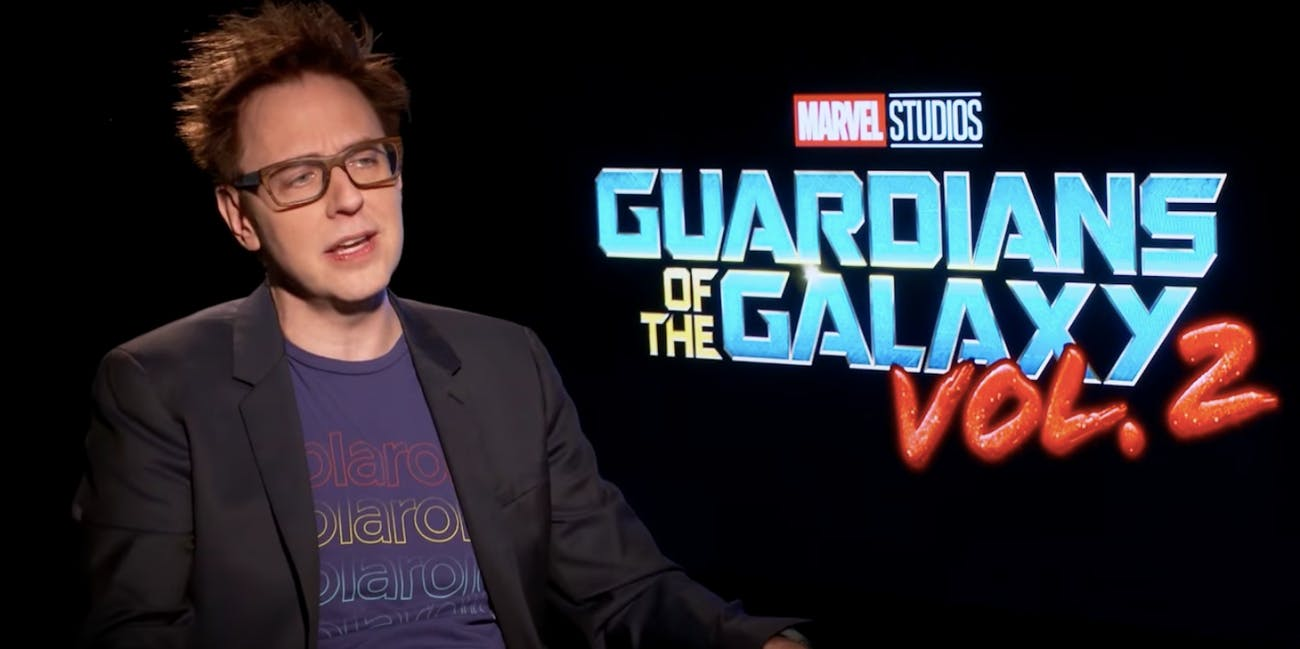 James Gunn Guardians of the Galaxy Marvel