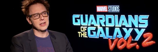 James Gunn Guardians of the Galaxy Marvel