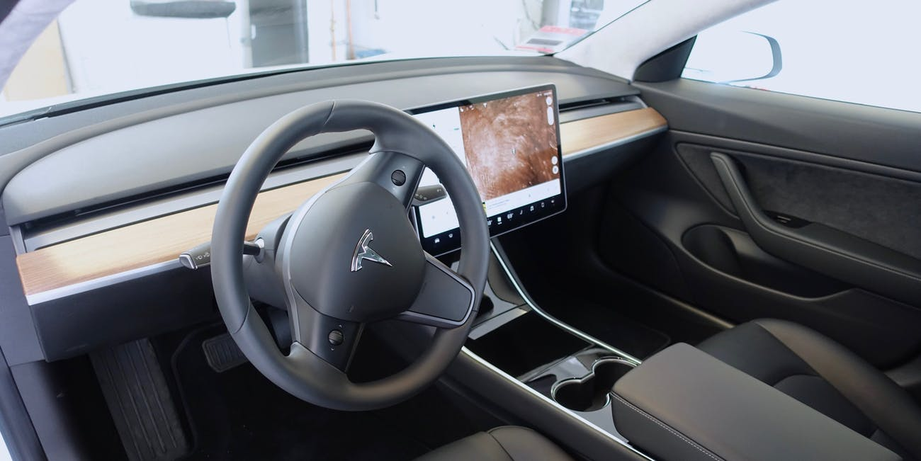 The Model 3 Interior.... on Mars