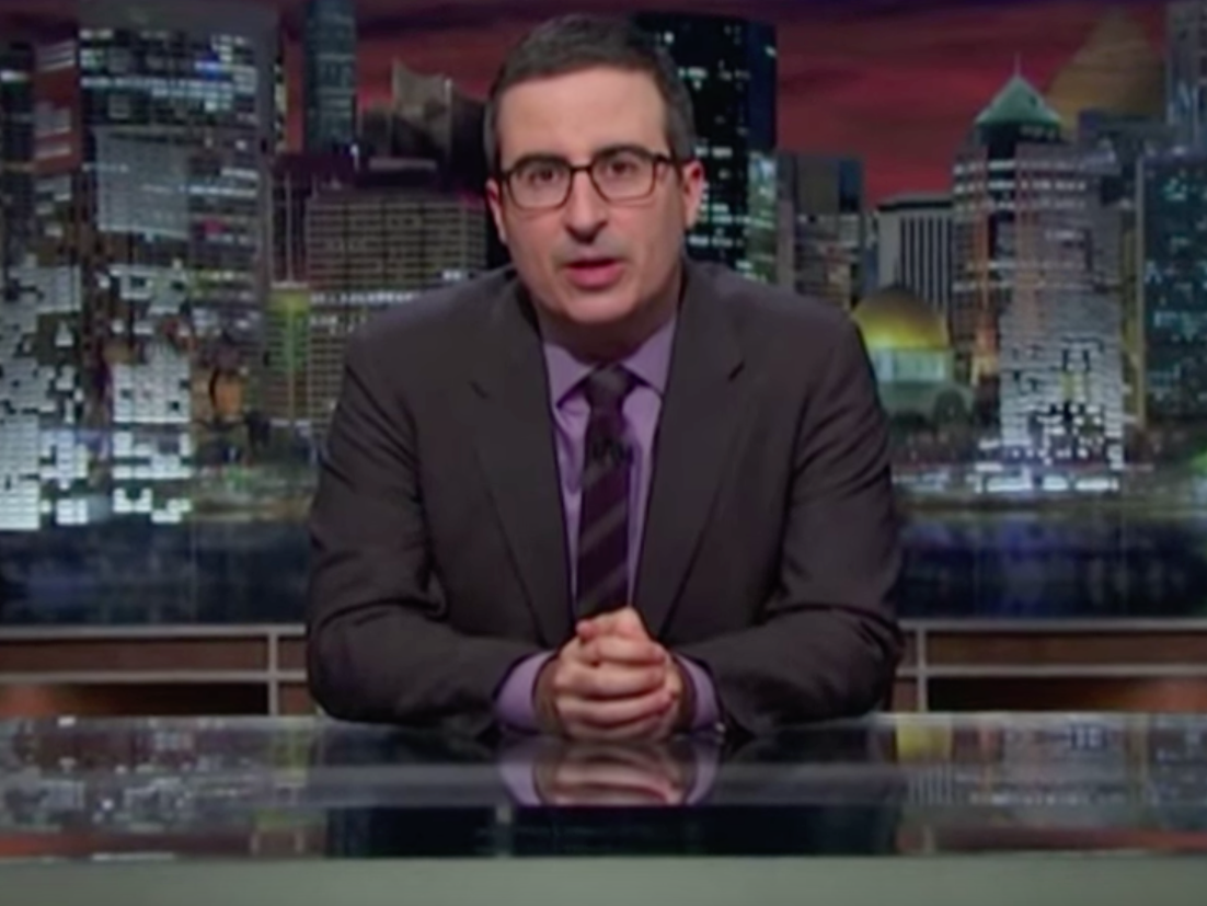 Watch John Oliver Cease His Prattling to Address Orlando Shooting