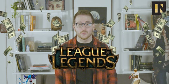 League of Legends, the face of eSports, brings in crazy profits while still being entirely free to play.