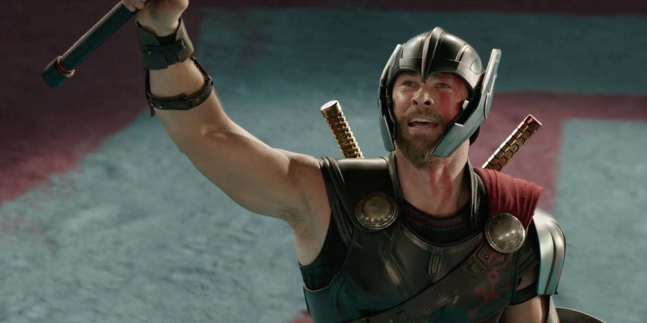 What does Thor's power set look like without his mighty hammer?