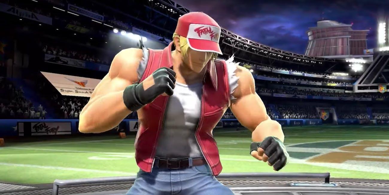 Terry Bogard Smash Bros. SNK