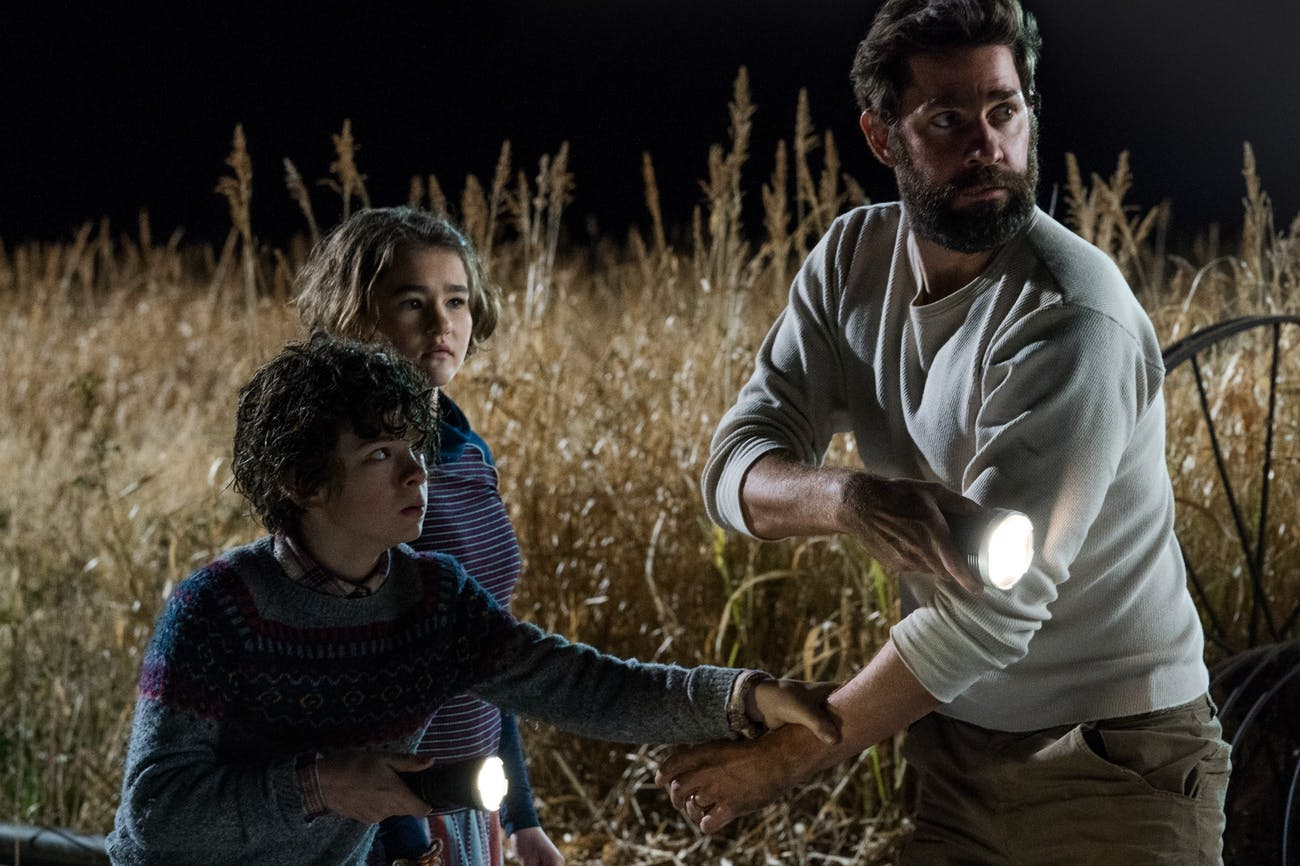 'A Quiet Place' takes place in a rather isolated area of a world ravaged by the apocalypse.