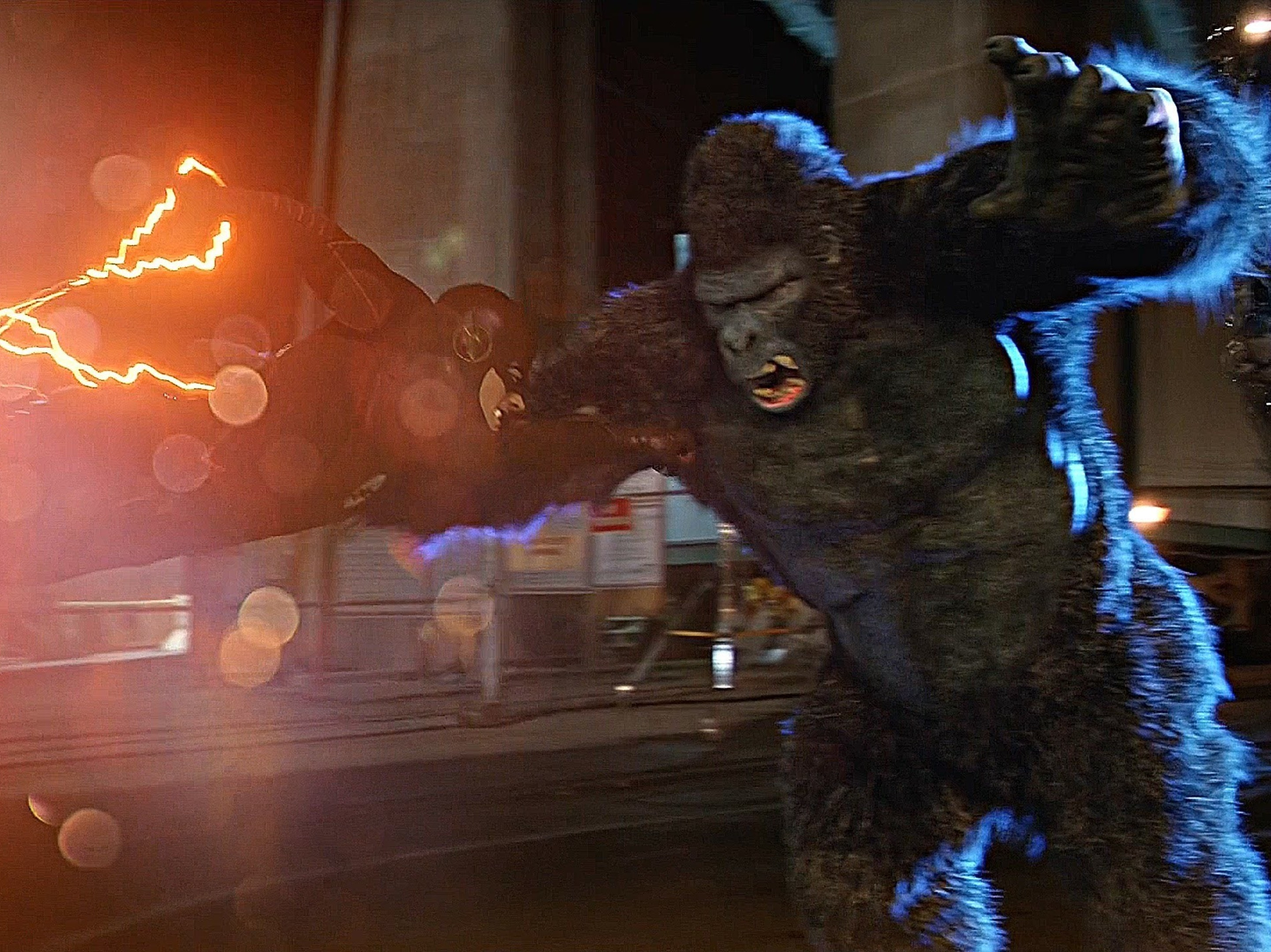 Flash Decides He's Better Than Green Arrow, Can't Kill Grodd