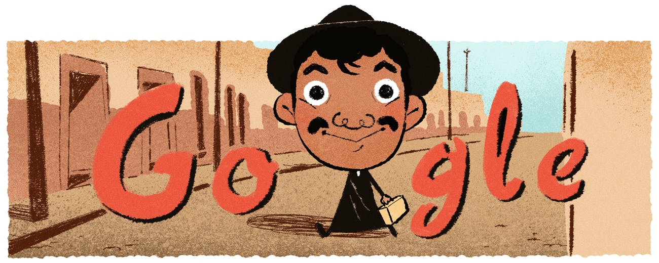 Google Doodle of Cantinflas