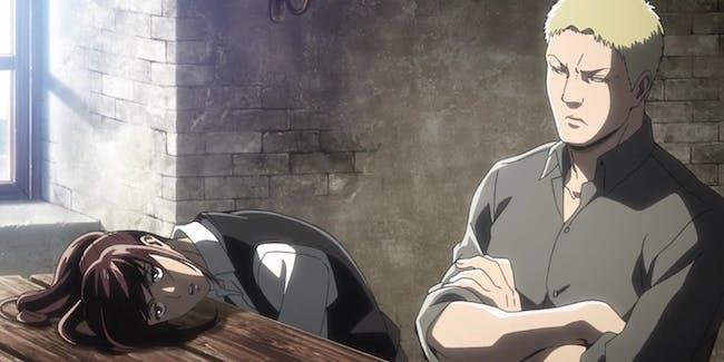 The always-hungry Sasha and Reiner.