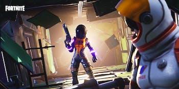 Dark Vanguard Fortnite skin