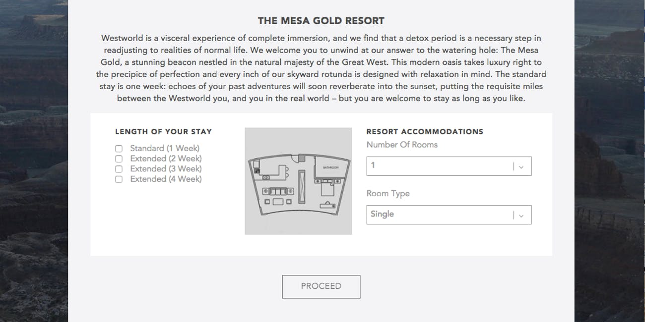 The Mesa Gold detox resort.