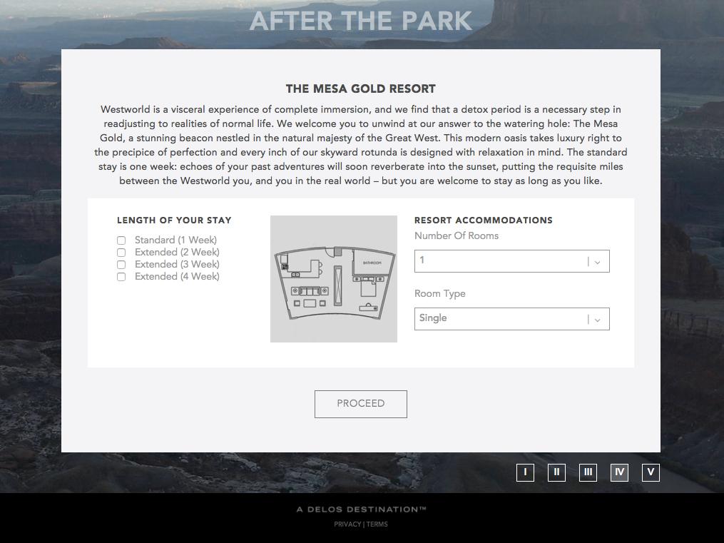 The Mesa Gold detox resort.