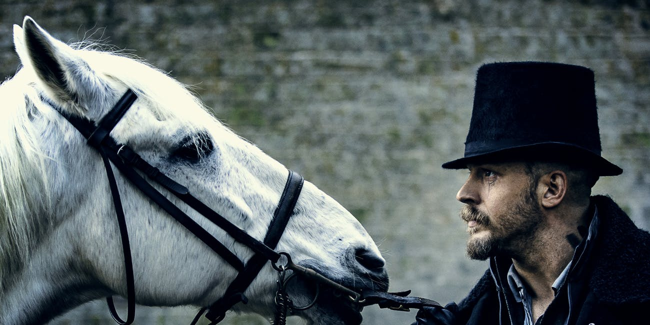 Tom Hardy is magical in 'Taboo'