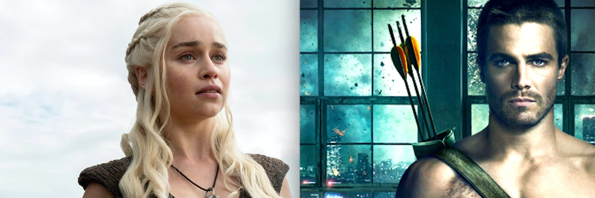 'Game of Thrones' and 'Arrow' are among summer's most popular tv shows, according to new statistics
