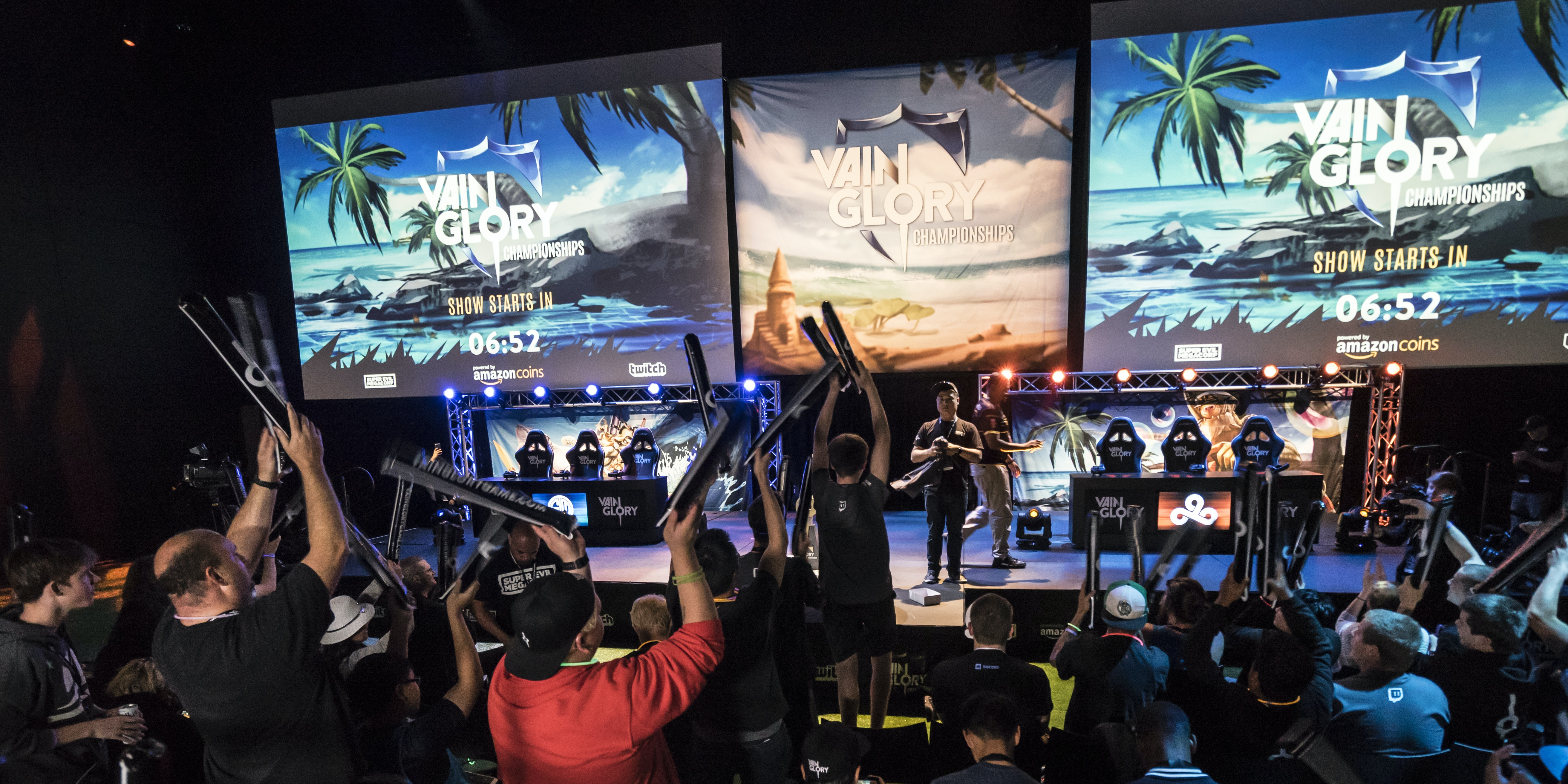 'Vainglory' might not draw giant crowds, but the fans are just as passionate.