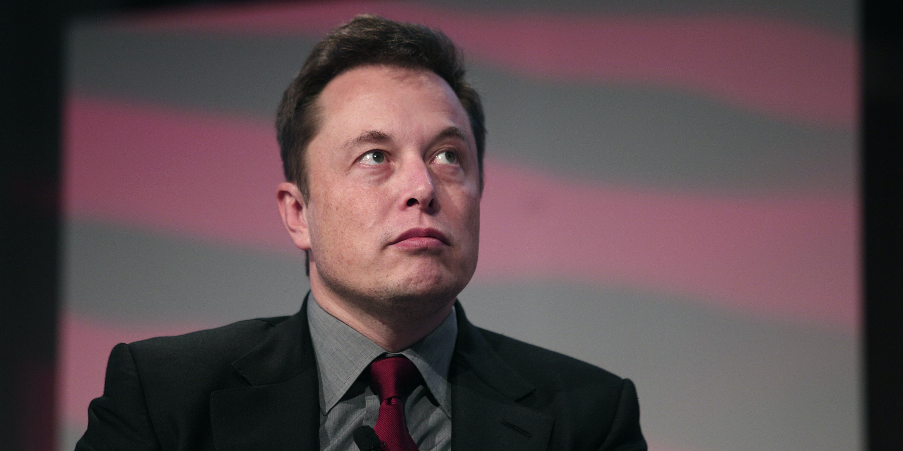Elon Musk, co-founder and CEO of Tesla Motors, speaks at the 2015 Automotive News World Congress January 13, 2015 in Detroit, Michigan. More than 5,000 journalists from around the world will see approximately 45 new vehicles unveiled during the 2015 NAIAS, which opens to the public January 17 and concludes January 25.