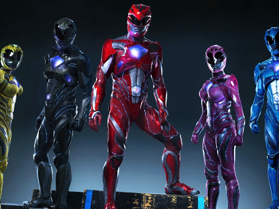 The New 'Power Rangers' Movie Costumes Are Here and They Look Gross