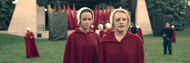 In 'The Handmaid's Tale' as in human evolution, gossip plays a very important role in keeping society together.