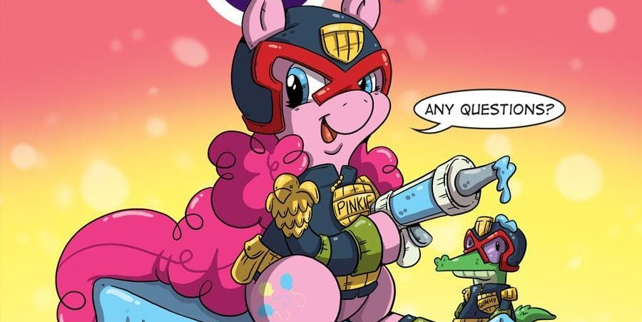 My Little Pony Judge Dredd Crossover for IDW