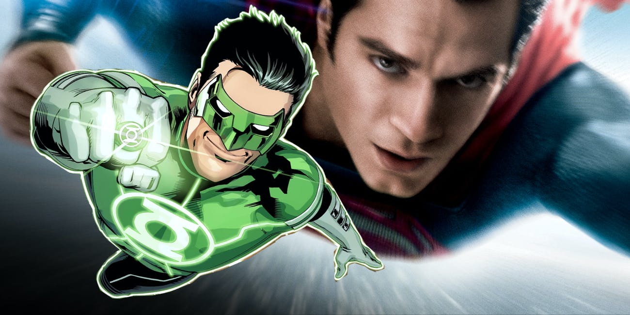 Green Lantern Man of Steel DCEU