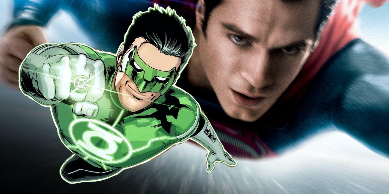 Green Lantern Man of Steel DCEU