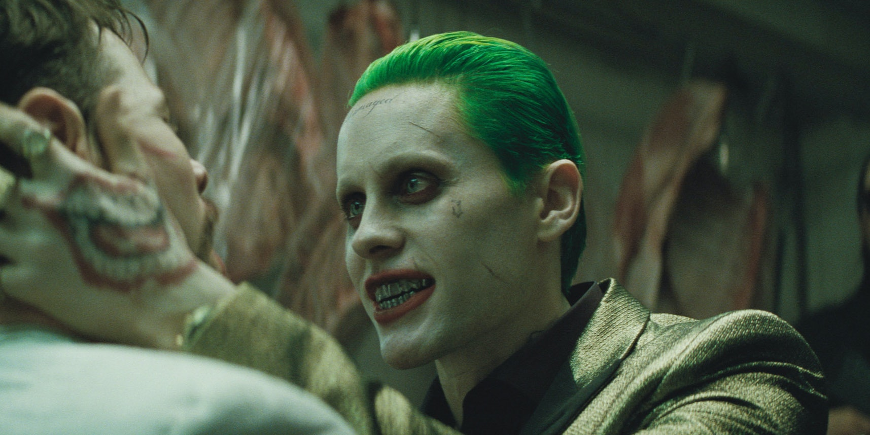 """Jared Leto as """"The Joker"""" in 'Suicide Squad'"""