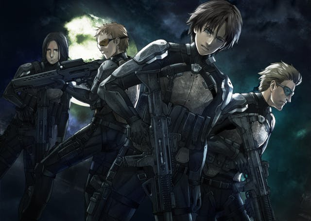 The special ops squad led by Clavis Shepherd.