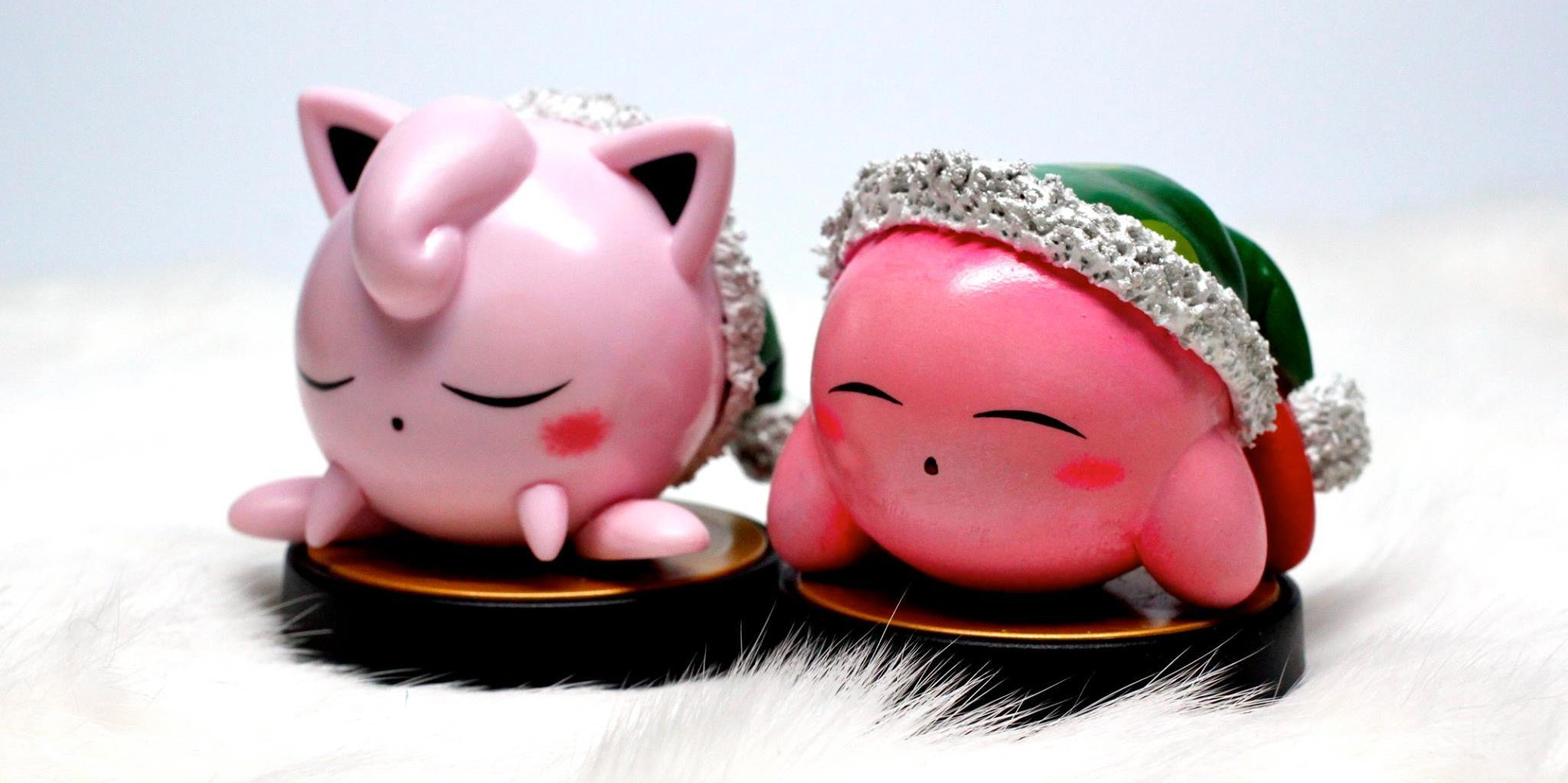 Sleepy Jigglypuff and Kirby are a good use of customs.