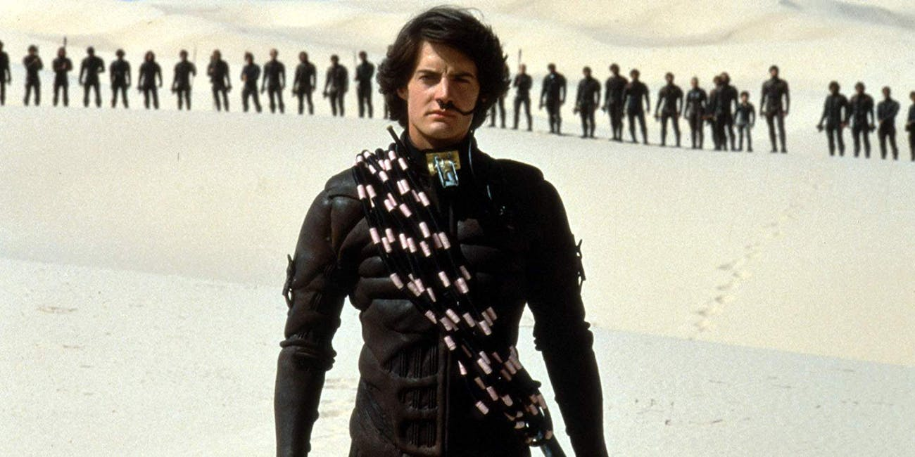 Kyle McLachlan as Paul Atreiedes in Dune