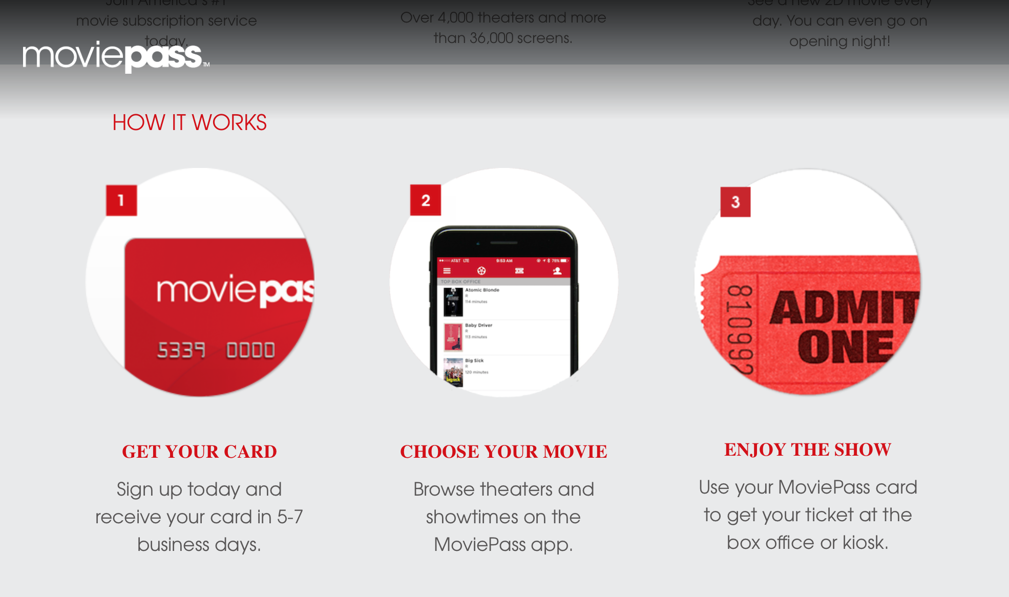 Image result for movie pass