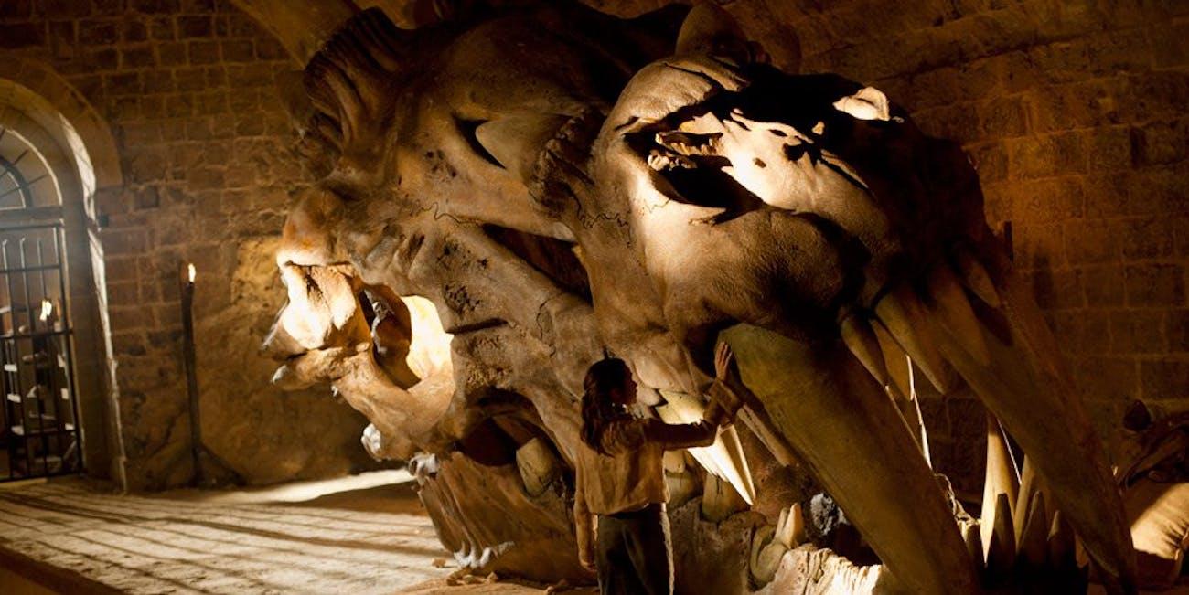 Arya Season 1 dragon skull