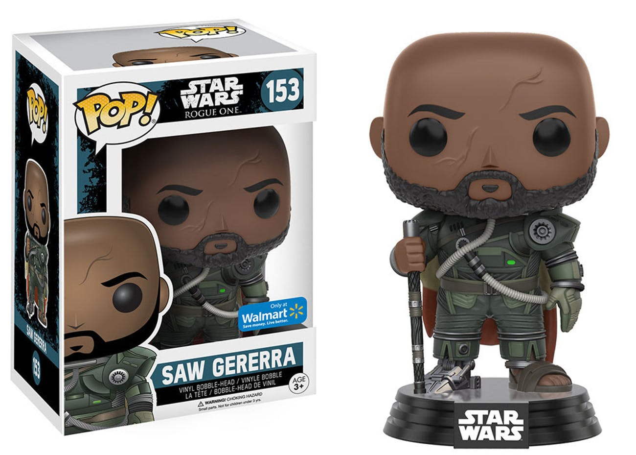 Saw Gerrera Funko POP! Vinyl