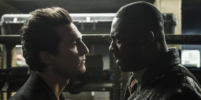 "The Man in Black and Roland in Stephen King's ""The Dark Tower"""