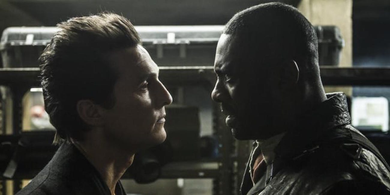 """The Man in Black and Roland in Stephen King's """"The Dark Tower"""""""